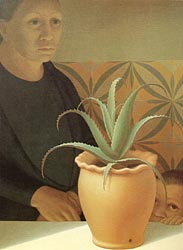 Pot of Aloes, 1974
