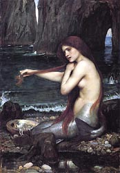A Mermaid, 1892-1900