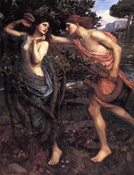 Apollo and Daphne, 1908