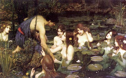 Hylas and the Nymphs, 1898