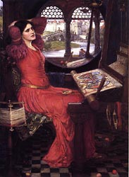 I Am Half Sick of the Shadows, Said the Lady of Shalott, 1915