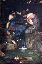 Nymphs Finding the Head of Orpheus, 1900