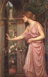 Psyche Opening the Door into Cupid's Garden, 1903