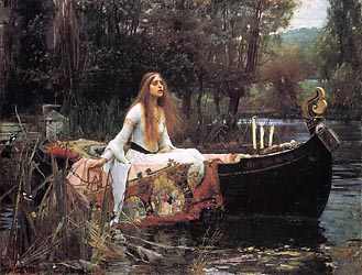 The Lady of Shallot, 1888