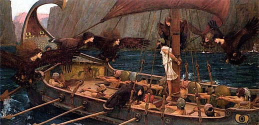 Ulysses and the Sirens, 1891